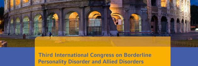 Terzo Congresso Internazionale ESSPD (European Society for the Study of Personality Disorder)